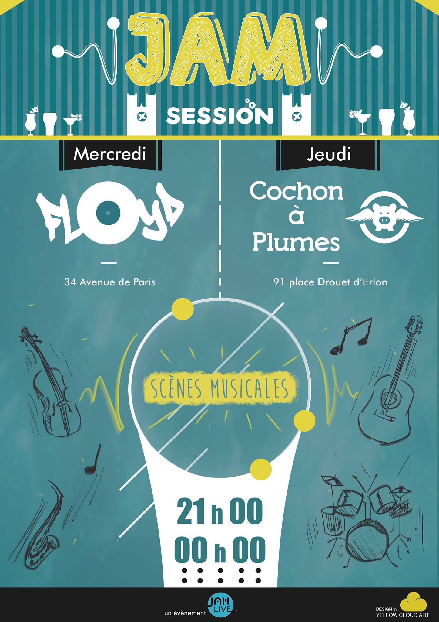 Jam Sessions à Reims